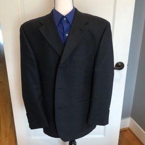 Calvin Klein Black Men's Sports Coat 38S